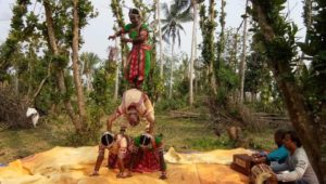 In the village retreat Selandingo, Guest enjoy the beautyful dance of Gotipua, at village of Odisha